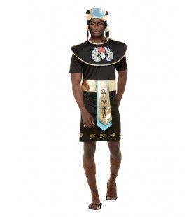Egyptische Farao Snoetankamon Man Kostuum