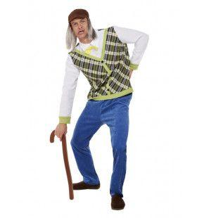 Oude Opa Kostuum Man