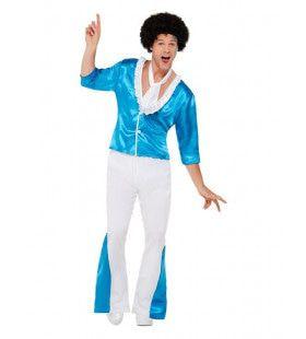 70s Dansvloer In De Fik Kostuum Man