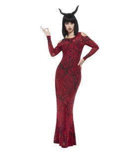 Luxe Miss Duivel Vrouw Kostuum