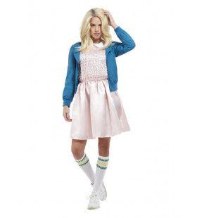 80s Schoolmeisje Vrouw Kostuum