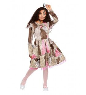Voodoo Pop Meisje Kostuum