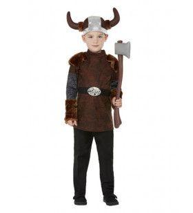 Bjorn De Barbaarse Viking Jongen Kostuum