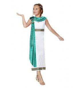 Deluxe Romeinse Livia De Machtigste Meisje Kostuum