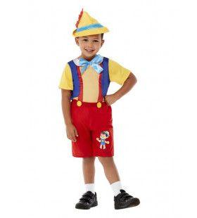 Niet Aan Touwtjes Gebonden Pinokkio Pop Jongen Kostuum