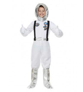 Witte Astronaut Kind Kostuum