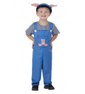Dat Varkentje Moet Gewassen Worden Op De Boerderij Kind Kind Kostuum