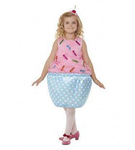 Schattig Cupcake Jurkje Meisje