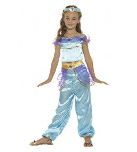 Dromerige Arabische Prinses Jasmijn Meisje Kostuum