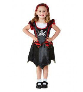 Kleine Piraat Zoekt De Schatkist Meisje Kostuum