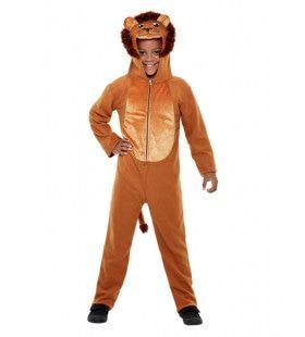 Jungle Koning Leeuwenbrul Kind Kostuum