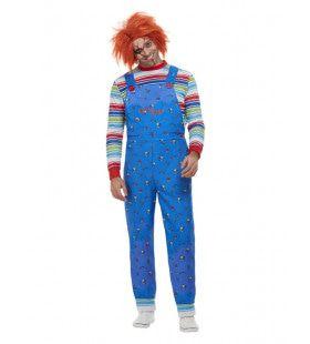 Chucky De Moordlustige Pop Man Kostuum