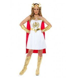 Power Prinses Superheld She-Ra Vrouw Kostuum
