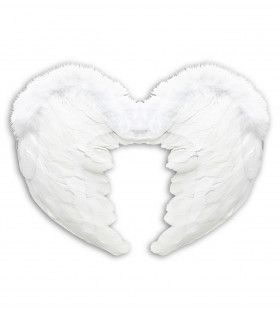 Engel Veren Vleugels 37x50xm, Wit