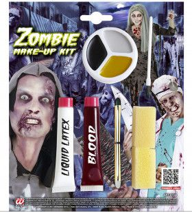 Doe Het Zelf Zombie Make-Up Kit