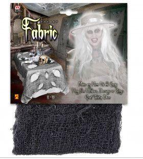 Tafellaken Halloween Stof 75x300cm, Zwart