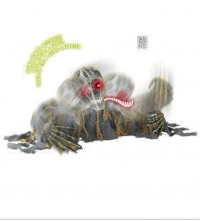 Innovatieve Skelet Zombie Groundbreaker Met Bewegend Hoofd