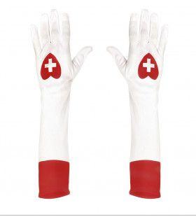 Chique Handschoenen Verpleegster Lang