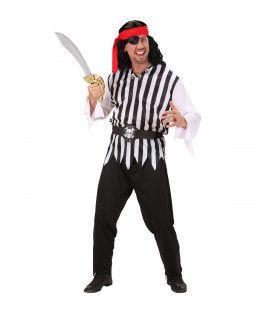 Piraat Man Ayay Sir Kostuum