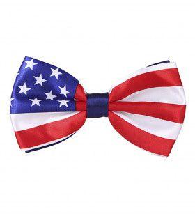 Stars And Stripes Strikje Usa
