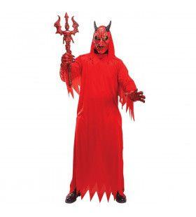 Duivel Red Devil Kostuum Man