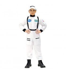 Astronaut Wit Andre Kuipers Kind Kostuum Jongen