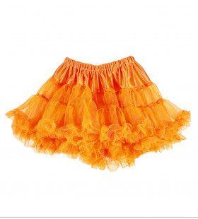 Fluff Tutu, Neon Oranje