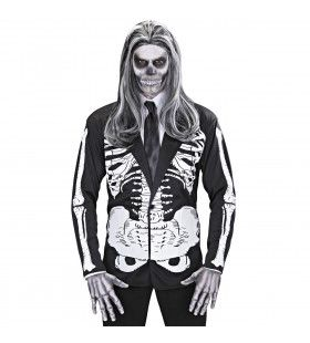 Keurige Skelet Jas Volwassen Medium / Large Kostuum Man