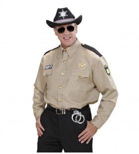 Modern Sheriff Shirt Man