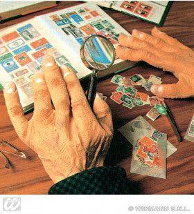 Paar Latex Maxi Handen