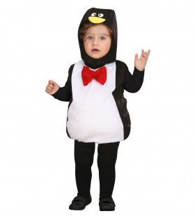 Opgevulde Pinguin Kind Kostuum