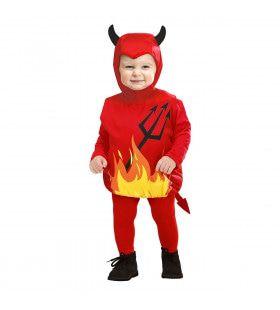 Opgevulde Duivel Kind Guitige Grapjas Kostuum