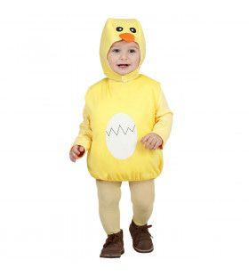 Opgevuld Kuiken Kind Beautiful Duckling Kostuum