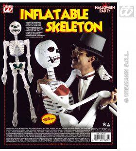 Opblaasbaar Skelet, 183 Centimeter