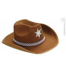 Hoed Sheriff Kind, Bruin