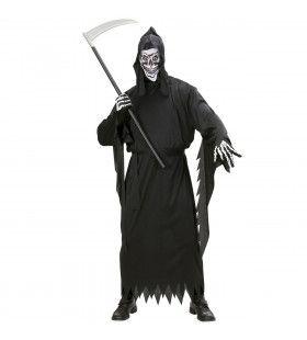 Grim Reaper Vader Tijd Kostuum Man