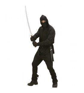 Fast Zwart Ninja Tokyo Kostuum Man