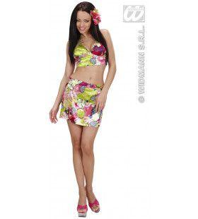 Hawaiiaanse Vrouw Miss Omaha Beach Kostuum