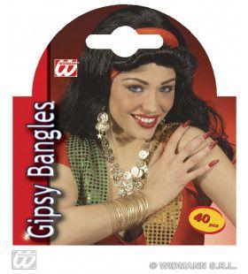 40 Armbanden Zigeunerin