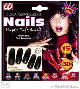 Zwarte Nagels Lang