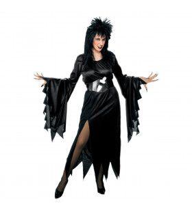 Horrible Lady Elvira Kostuum Vrouw