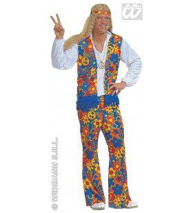 Hippie Man Peace Man Kostuum