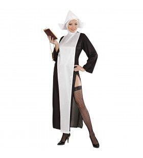 Sexy Non Zuster Charetella Kostuum Vrouw