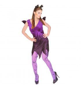 Spicy Vleermuis Sexy Bat Kostuum Vrouw
