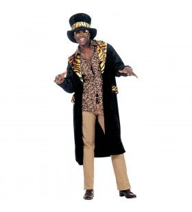 Big Daddy, Fluweel King Of Pimps Kostuum Man