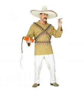 Pistolero Mexicaan Kostuum Man