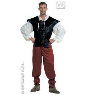Klassieke Herbergier Kostuum Man