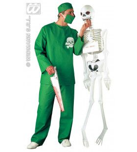 Chirurg Schedel Dr No Kostuum Man