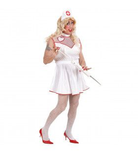 Mannelijke Verpleegster Travestiet XL Kostuum