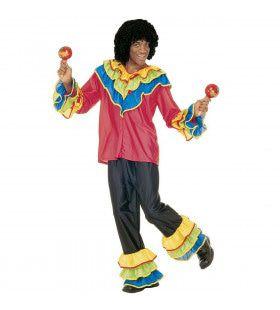 Kleurrijk Braziliaan Kostuum Man